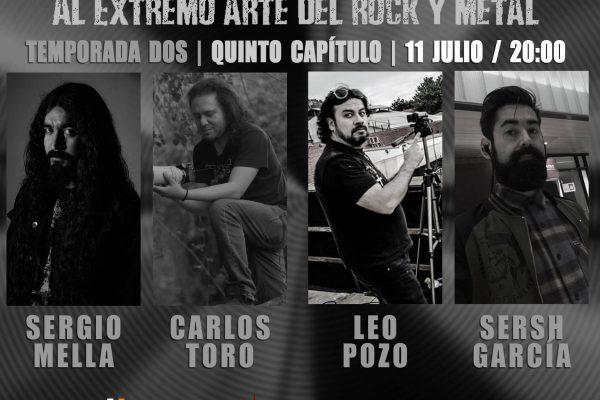 NECROPSIA al Extremo Arte del Rock y Metal E05/T02/2019